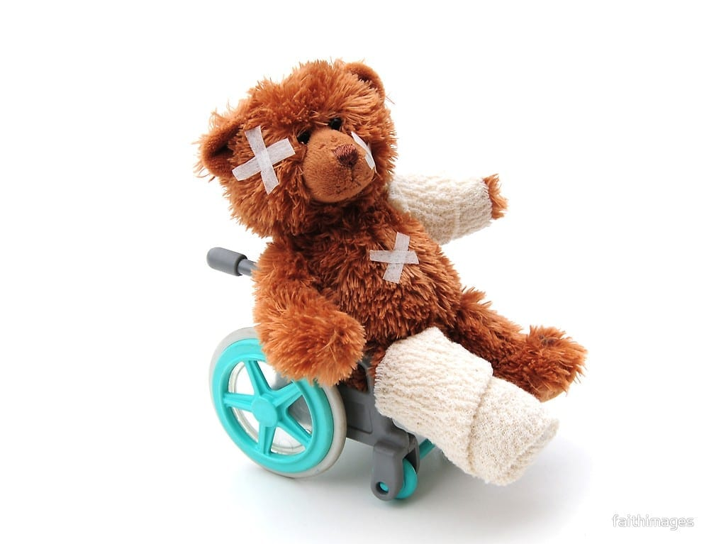 Income protection teddybear