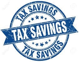 Image of a Tax savings logo