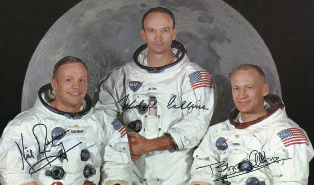 Image of Apollo 11 signed photo