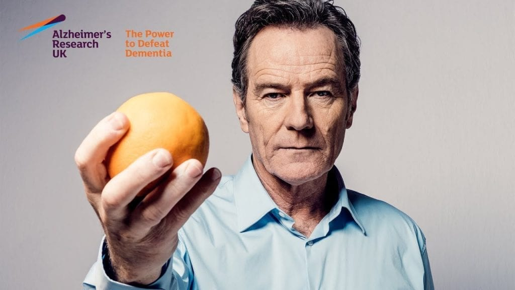 image of alzheimer's research supporter Bryan Cranston