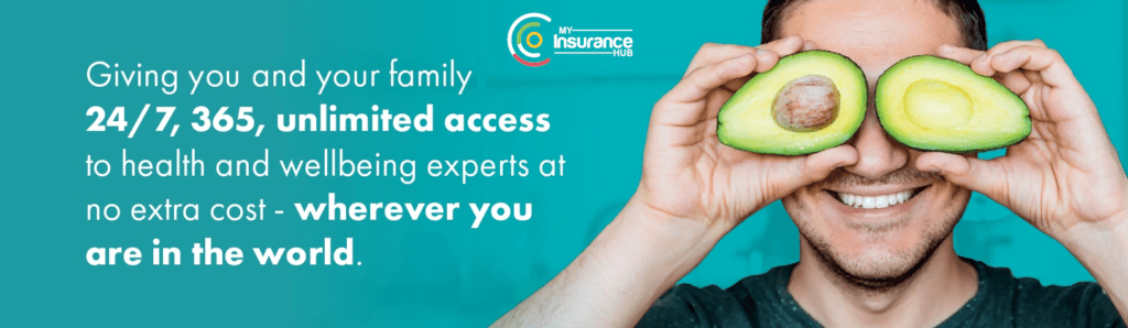 AIG Smart Health giving you and your family unlimited access to health and wellbeing experts